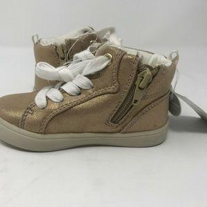 Carters Kids Girls Martha2 High-top Sneaker